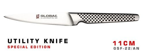 Global Special Edition Utility Knife 11cm - GSF-22/AN